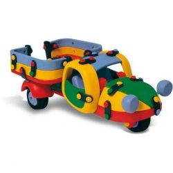 Készségfejlesztő játékok - Építőjáték háromkerekű autó mic-o-mic