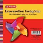 Írószerek - Iskolaszerek - Papírok-kartonok - Kivágólap 15x15