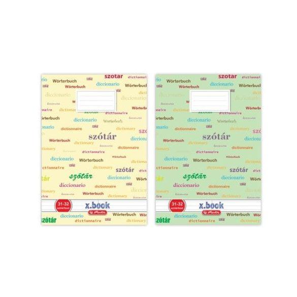 Írószerek - Iskolaszerek - Füzetek - Szótárfüzet Herlitz