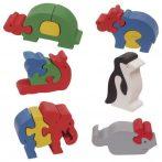 Fa puzzle - Puzzoo állatos készlet
