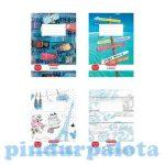 Írószerek-iskolaszerek- Sima füzet, Herlitz
