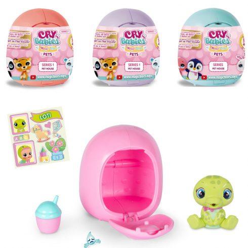 Gyűjthető figurák - Cry Babies Magic Tears Pets Kis Kedvencek