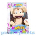 Interaktív pukizó kacagó majom Furfis Funny Monkey