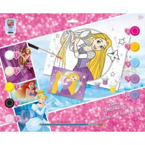 Kifestők - Színezők - Disney Hercegnők - Festés számok szerint, A3