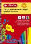 Színes papírok - Herlitz kivágópapír A4/10 fényes