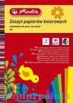 Kreatív papírok - Herlitz Kivágópapír A5 fényes