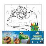 Kirakósok - Dinó Tesó puzzle színező