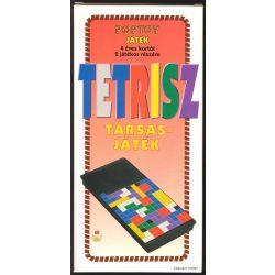 Hordozható társasjátékok - Tetrisz uti játék Poptoy