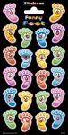Matricák gyerekeknek - Matrica lábak-arcok Smile Feet Faces