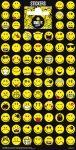 Matricák gyerekeknek - Mosolygós arcok matrica, 102x200mm