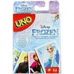 Kártya játékok - UNO Junior Jégvarázs kártyajáték - Mattel