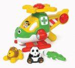 Minőségi műanyag játékok - WOW Toys - Harry állatmentő helikoptere