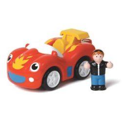 Kisautók gyerekeknek - WOW Toys Frankie a tűzgolyó sportautó