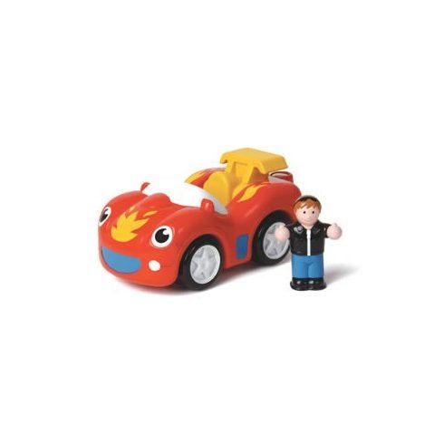 Kisautók gyerekeknek - WOW Toys Frankie a tűzgolyó sportautó figurával