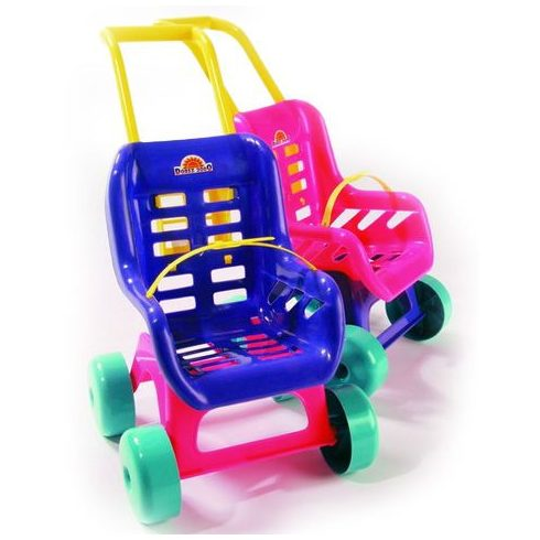 Játékbaba kellékek - D-Toys Babakocsi