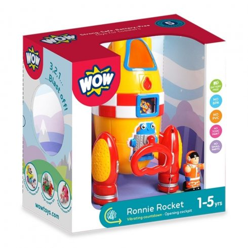 WOW Toys - Ronnie a rakéta csomagolásban