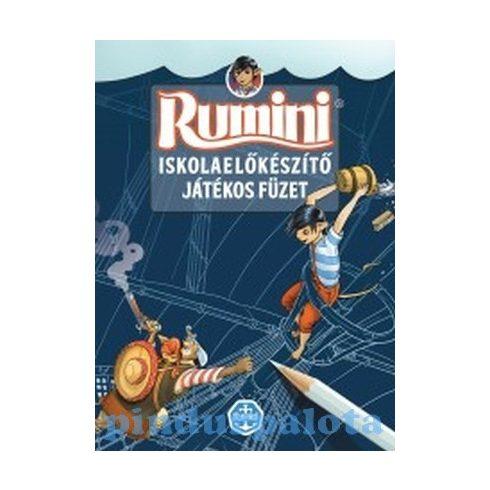 Foglalkoztató füzetek - Rumini Iskolaelőkészítő játékos füzet