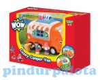 Törhetetlen játék járművek - WOW Toys Casey Lakóautója