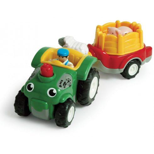 WOW törhetetlen játékok - Bernie a traktor utánfutóval