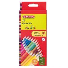Írószerek - Iskolaszerek - Íróeszközök - Herlitz színes ceruza 24 trio
