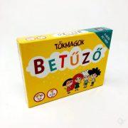 Társasjátékok - Kártyák - Betűző kártyajáték