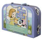 Gyerek Puzzle - Kirakósok - Pitypang és Lili bőröndös puzzle