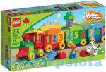 Építőjátékok - Építőkockák - 10558 LEGO Duplo - Számvonat