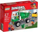 Építőjátékok - Építőkockák - 10680 Lego Juniors - Kukás autó
