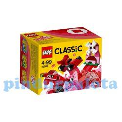 Lego Classic játékok - 10707 Lego Classic alapkészlet piros árnyalatok