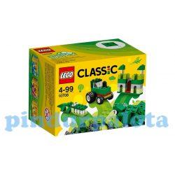 Lego - Bricks and More Lego - 10708 Lego classic zöld kreítív készlet