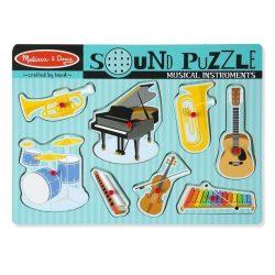 Gyerek Puzzle - Kirakósok - Melissa & Doug Hangos puzzle Hangszerek