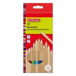 Íróeszközök - Ceruzák - Színesceruzák - Herlitz hatszögletű színesceruza készlet