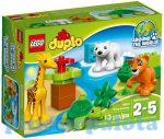 Építőjátékok - Építőkockák - 10801 LEGO DUPLO - Állat bébik