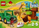 Építőjátékok - Építőkockák - 10802 Lego Duplo - Szavanna