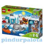 Építőjátékok - Építőkockák - 10803 LEGO DUPLO - Sarkvidék