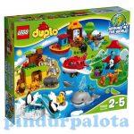 Építőjátékok - Építőkockák - 10805 LEGO DUPLO A világ körül