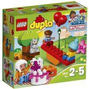 Duplo - A LEGO legkisebbeknek szánt fejlesztő játéka - 10832 LEGO DUPLO Város Születésnapi piknik