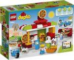 Duplo - A LEGO legkisebbeknek szánt fejlesztő játéka - 10834 Pizzéria