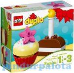 Építőjátékok - Építőkockák - 10850 LEGO DUPLO Kezdőkészletek Első süteményem