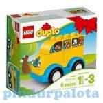 Duplo - A LEGO legkisebbeknek szánt fejlesztő játéka - LEGO DUPLO 10851 Első autóbuszom