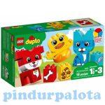 Építőjátékok gyerekeknek - Lego Duplo - 10858 Első házikedvencek