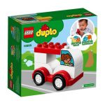 Duplo - A LEGO legkisebbeknek szánt fejlesztő játéka - 10860 Első versenyautóm