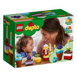 Duplo - A LEGO legkisebbeknek szánt fejlesztő játéka - 10862 LEGO DUPLO Kezdőkészletek Első ünneplés