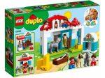 Duplo - A LEGO legkisebbeknek szánt fejlesztő játéka - 10868 Póni istálló
