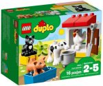 Duplo - A LEGO legkisebbeknek szánt fejlesztő játéka - 10870 Háziállatok