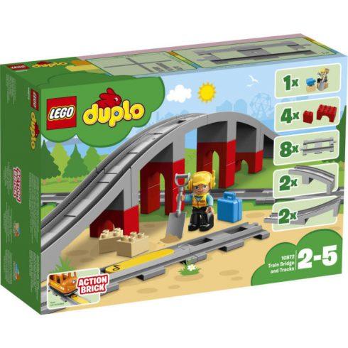 Duplo - 10872 LEGO DUPLO Vasúti híd