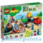 Építőjátékok gyerekeknek - LEGO DUPLO - 10874 Gőzmozdony