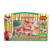 Gyerek Puzzle - Kirakósok - Mesekocka vadállatok 6 db Dohány Toys