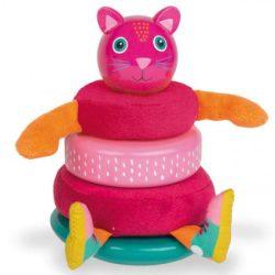 Fejlesztő játékok babáknak - Montesszori cica OOPS