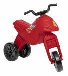Kis motorok - Háromkerekű lábbalhajtós műanyag motor piros